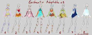 SOLD OUT Enchantix Adoptables #2 by kacper11000