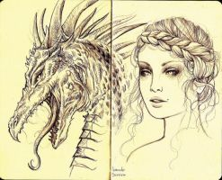 Sketchs X by agnes-green