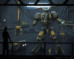 Mech Construction by shinypants