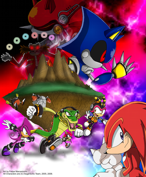 Chaotix Drawing Contest by yuski