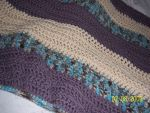 Blanket - brown + blue by a-miss