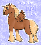 Happy Uni Day by PsychicPsycho