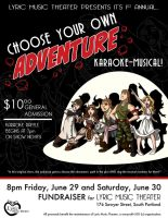 Choose Your Own Adventure Karaoke Musical! by jeftoon01
