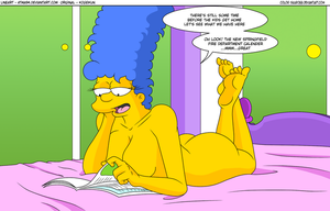 Marge's Evening Delight - Color- by Sauron88