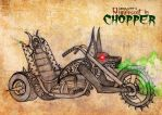 Nega Kimy's Requiescat in Chopper by KimyTheAnubisKeeper