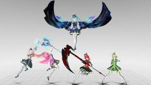 [MMD] Magical Girl Poses 1 by PsychoMP