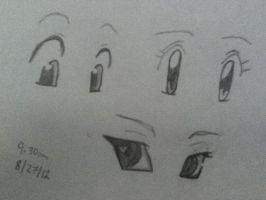 Anime Eyes~ by MrsKyoya
