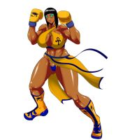 Hathor Neema Professional Boxing Gear by deadpoolthesecond