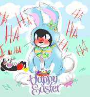 happy Easter 2014 by tinylittledollhound