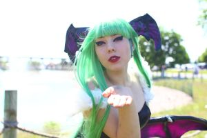 ColossalCon 2014 - Morrigan Aensland(PS) 03 by VideoGameStupid