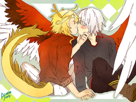 Couple Commission 6 by Acusta