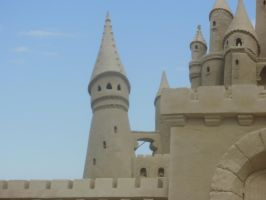 Sand Castle Turrets by kml91225