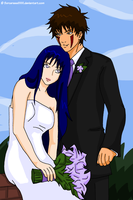 Kibahina Wedding by Sorceress2000