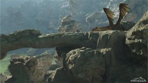 The Last Guardian by 3DLandscapeArtist