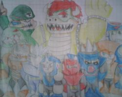 Bowser and the Mecha-Maniacs by Greasy-LucarioYun