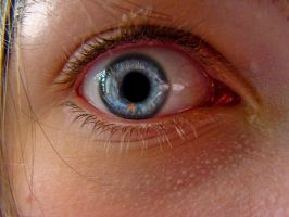 An eye by SteffenHa