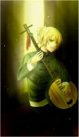 vocaloid: spinning song LEN by minataka94