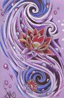 waterlilly swirl by jennymacattack
