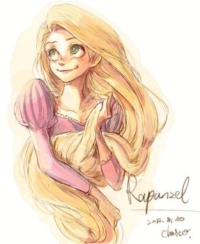 Rapunzel by chacckco