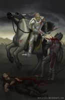 Knights are for killing by Tellur123