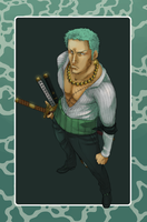 Zoro - Contest Entry by yorei