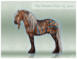 The Hototo FAQ by Jullelin