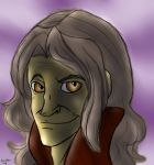 Messy Rumple sketch by winterelf86