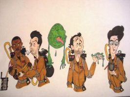 Ghostbusters by TristanYonce