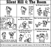Silent Hill 4: The Room by queegy