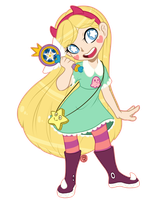 Star Butterfly by YukiKitty
