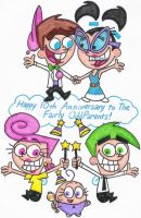 Fairly Odd 10th Anniversary by nintendomaximus