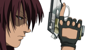Revy Ready to Shoot by TrickYou