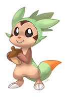 Chespin deserves more love by yassui