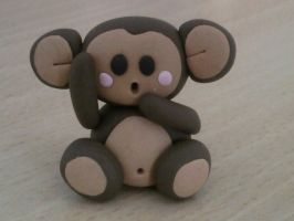 Monkey fimo by bimbalove81
