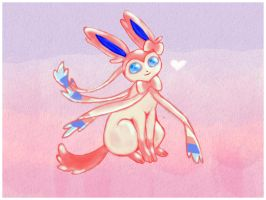 Sylveon by pinkmis
