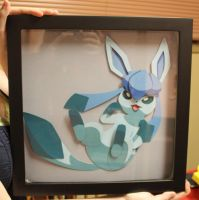 Glaceon - Shadow Box by FetchingMedia