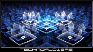 Technoflowers by TwilightAmbiance