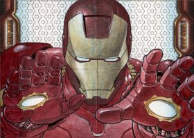 Iron Man 2 Puzzle Set 1 by artofneff