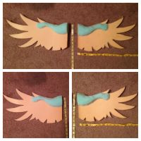 Angel Dragon Wing Bases for CrystalNori by Shadow-Dragon27