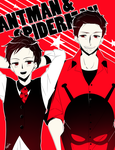 Avengers Formal   Ant-Man + Spiderman by CYUUTE