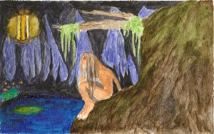 Cave being by Coelophysis83