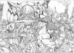 soul calibur cover pencils by NgBoy
