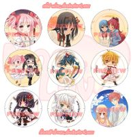 Japan Expo Badges by Kawaii-Dream