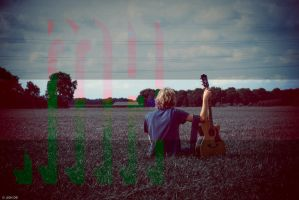 .EMHA and his guitar by Trianglis