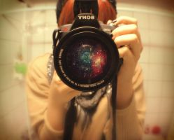 photograph the universe by bottle-of-love