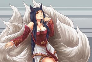 Ahri by ange-of-the-top-hat