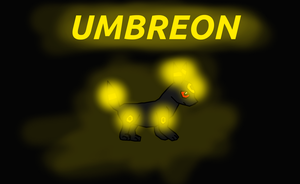 Umbreon (For Umbreon35) by BudCharles