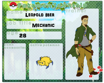 [PTS] Leopold Iber by PokemonTrainerHail