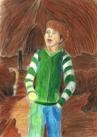 Ethan in the tunel by brittanyandalvin