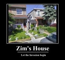 Real Life Invader Zim House by star3catcher